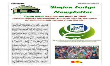 September 15 Newsletter